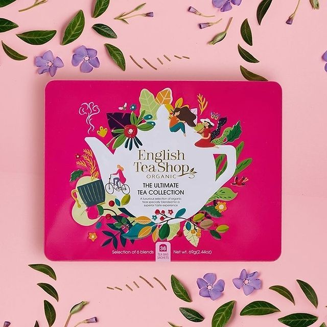 English Tea Shop Ultimate Tea Collection Pink | WholeLife Pharmacy & Healthfoods