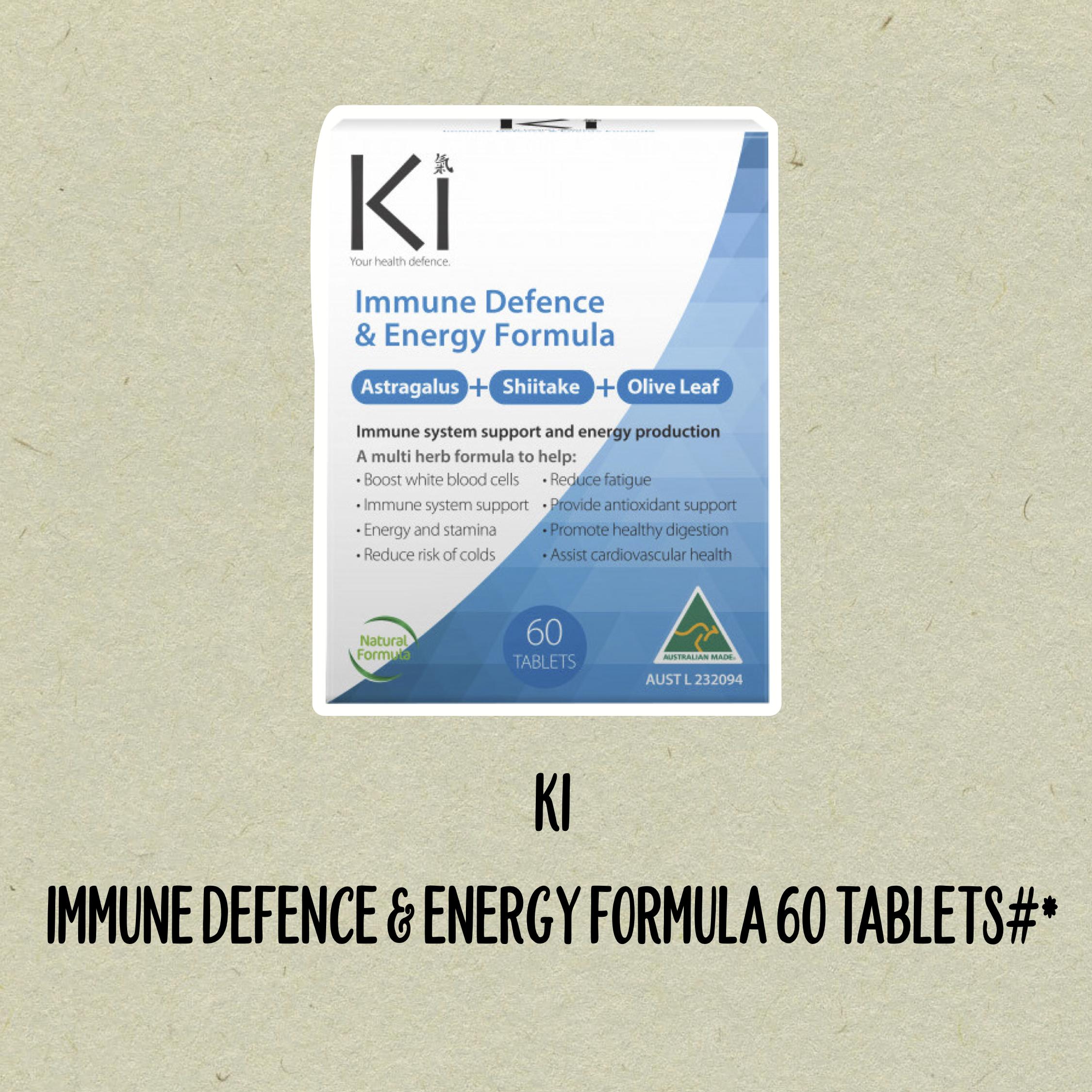 KI Immune Defence and Energy Formula